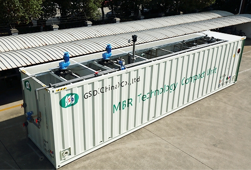 Compact Unit Reactor of WWTP